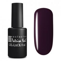 PATRISA NAIL 174 гель-лак для ногтей, глубокие темные оттенки / Axios Gel 8 мл