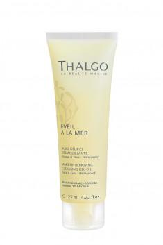 THALGO Гель-масло трансформирующееся для снятия макияжа / EVEIL A LA MER 125 мл