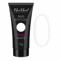NeoNail, Акрил-гель Duo, French White, 15 г NeoNail Professional