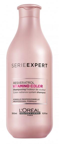 L'OREAL PROFESSIONNEL Шампунь для окрашенных волос / ВИТАМИНО КОЛОР 300 мл LOREAL PROFESSIONNEL