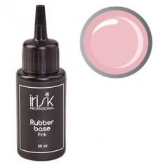 IRISK PROFESSIONAL База каучуковая камуфлирующая для ногтей, нежно-розовая / Rubber Base Pink 50 мл