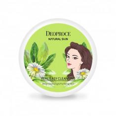 крем для лица очищающий deoproce natural skin real easy cleansing