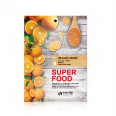 Маска для лица тканевая с апельсином EYENLIP SUPER FOOD ORANGE MASK 23мл