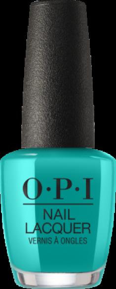 Лак для ногтей OPI CLASSIC NLN74 Dance Party Teal Dawn Neons Collection15мл