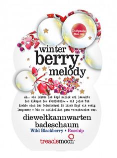 TREACLEMOON Пена для ванны Ягодный смузи / Winter berry melody badescha 80 г
