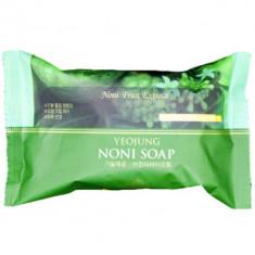 Мыло отшелушивающее с экстрактом фрукта нони Juno Yeojung Noni 120г