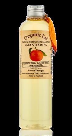 Шампунь безсульфатный с мандариновым маслом ORGANIC TAI Natural Fortifying Shampoo Mandarin 260 мл