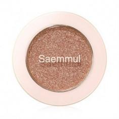 Тени для век с глиттером THE SAEM Saemmul Single Shadow Glitter PK05 1,6гр
