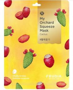 Тканевая маска с кактусом Frudia My Orchard Squeeze Mask Cactus 20 мл