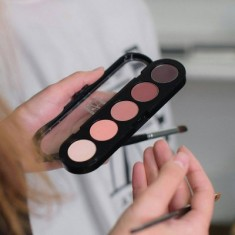 Палитра теней, 5 цветов Make-Up Atelier Paris T19 тона розового дерева