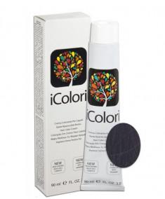 KAYPRO 5.18 краска для волос, ледяной шоколадный светло коричневый / ICOLORI 100 мл