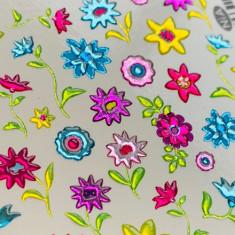 AnnaTkacheva,3D-слайдерCrystalHT№347 «Цветы. Листья» Anna Tkacheva