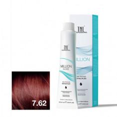 TNL, Крем-краска для волос Million Gloss 7.62 TNL Professional