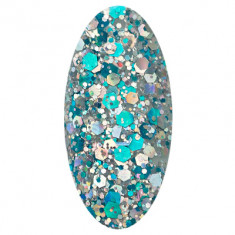 IRISK PROFESSIONAL 33 гель-лак для ногтей / Glossy Platinum 5 мл