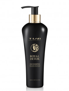 T-LAB PROFESSIONAL Шампунь для абсолютной гладкости волос / DUO Royal Detox 250 мл