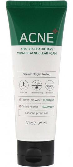 SOME BY MI Пенка очищающая с кислотами для проблемной кожи 100 мл