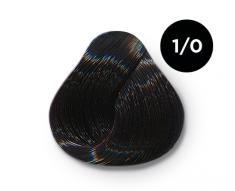 OLLIN PROFESSIONAL 1/0 краска для волос, иссиня-черный / OLLIN COLOR 100 мл
