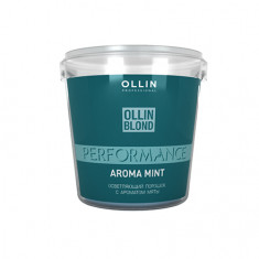 OLLIN, Осветляющий порошок Blond Performance Aroma Mint, 500 г OLLIN PROFESSIONAL