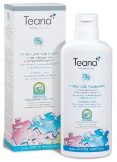 Пенка для умывания Р2 для жирной, комбинированной и проблемной кожи лица TEANA