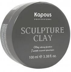 KAPOUS Глина нормальной фиксации для укладки волос / Sculpture Clay 100 мл