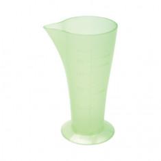 Dewal, Стакан мерный с носиком, зеленый, 120 мл