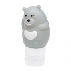 Dewal, Дорожная баночка «Медведь», серая