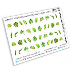 BPW.style, Слайдер-дизайн «Тропические листья» №5-1944