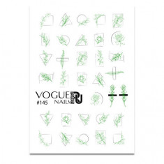 Vogue Nails, Слайдер-дизайн №145