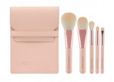 Набор кистей для макияжа Holika Holika Nudrop Mini Brush Set 5шт