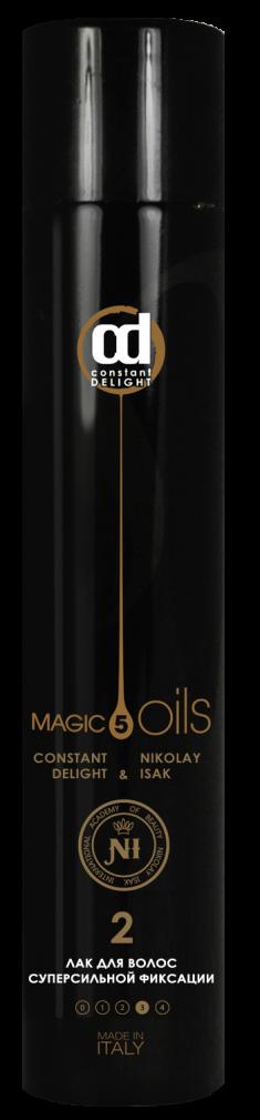 CONSTANT DELIGHT Лак суперсильной фиксации для волос №2, без запаха / Style 400 мл