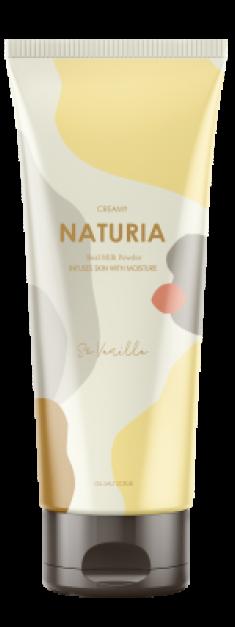 Скраб для тела ВАНИЛЬ EVAS NATURIA Creamy Oil Salt Scrub So Vanilla 250 г
