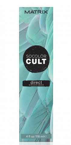 MATRIX Крем-краситель с пигментами прямого действия для волос, пыльный бирюзовый / SOCOLOR CULT 118 мл