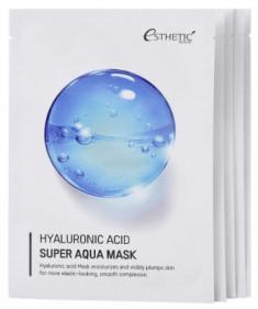 Набор Тканевых масок для лица Гиалуроновая кислота ESTHETIC HOUSE Hyaluronic Acid super aqua mask 25 мл*5шт