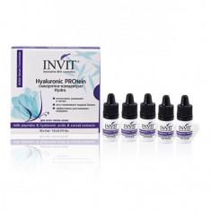 INVIT, Сыворотка-концентрат для лица Hyaluronic PROtein, 10х3 мл