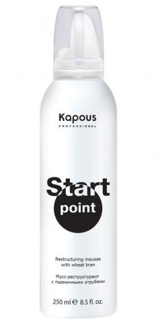 KAPOUS Мусс-реструктурант с пшеничными отрубями / Start Point 250 мл