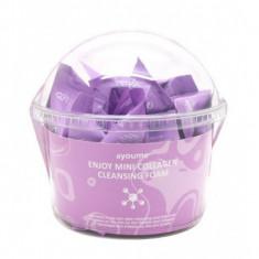 набор пенок для умывания с коллагеном ayoume enjoy mini collagen cleansing foam set