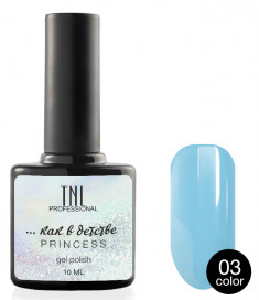 TNL PROFESSIONAL 03 гель-лак для ногтей / Princess color 10 мл