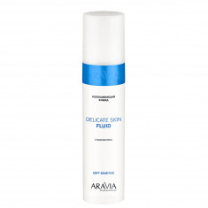 Aravia professional,флюид успокаивающий с маслом овса для лица и тела delicat fluid 250мл