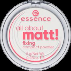 Пудра компактная All about matt! fixing compact powder Essence