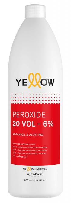 YELLOW Окислитель кремовый 6% (20 vol) / STABILIZED PEROXIDE CREAM 1000 мл