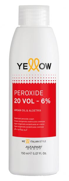 YELLOW Окислитель кремовый 6% (20 vol) / STABILIZED PEROXIDE CREAM 150 мл