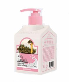 Лосьон для тела с ароматом белого мускуса Milk Baobab Perfume Body Lotion White Musk 250мл