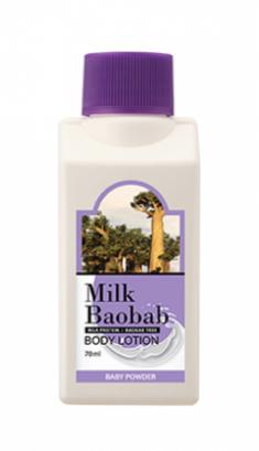 Лосьон для тела с ароматом детской присыпки Milk Baobab Body Lotion Baby Powder Travel Edition 70мл
