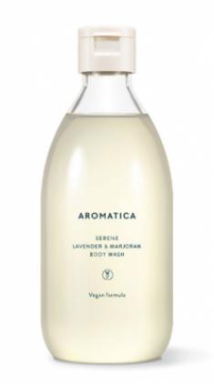 Гель для душа с лавандой и майораном AROMATICA Serene Body Wash Lavender & Marjoram 300мл
