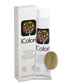 KAYPRO 11.11 краска для волос, супер-платиновый экстра пепельный блондин / ICOLORI 90 мл