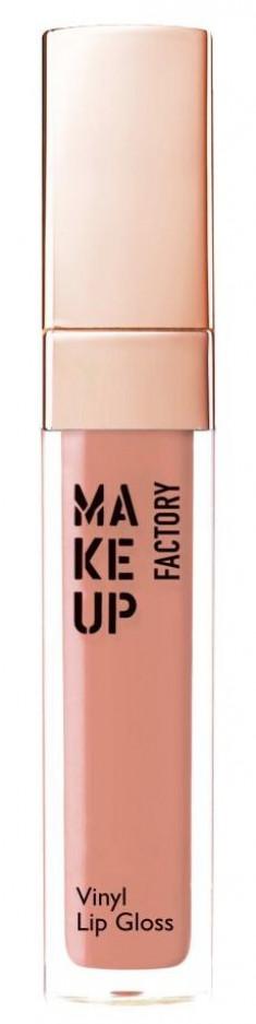MAKE UP FACTORY Блеск для губ, 03 электрик нюд / Vinyl Lip Gloss