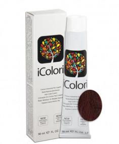 KAYPRO 6.2 краска для волос, темно-русый фиолетовый / ICOLORI 90 мл