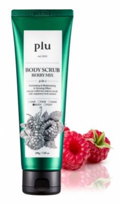 Скраб для тела Ягодный микс PLU Body Scrub Berry Mix 200 г