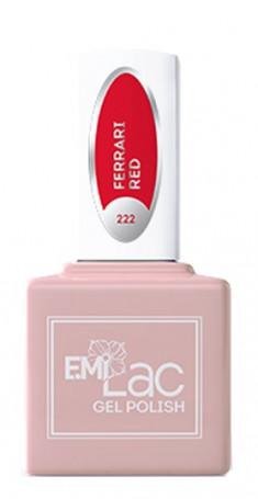 E.MI 222 RM гель-лак для ногтей, Феррари / E.MiLac 6 мл