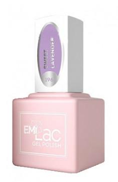 E.MI 196 PR гель-лак для ногтей, Лаванда / E.MiLac 6 мл